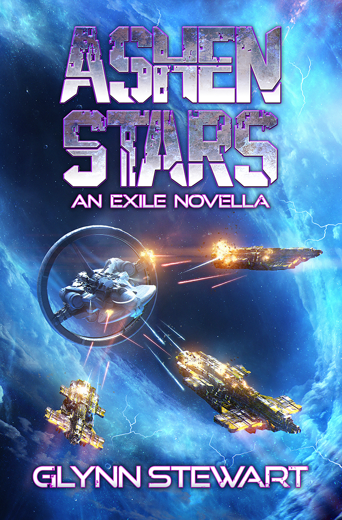 Ashen Stars by Glynn Stewart. Prequel to Exile, due our July 2018