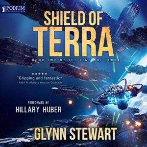 Shield of Terra by Glynn Stewart will be available in audiobook format on August 6, 2019.